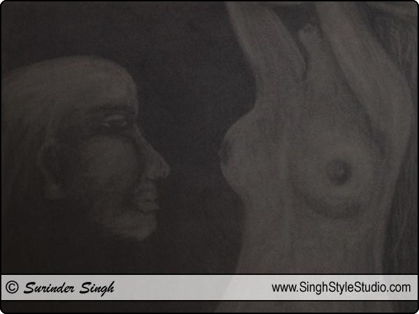 形象化的艺术,新德里,印度